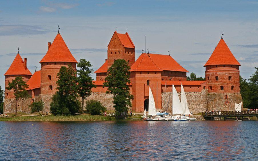 Baltikum Burg Trakai