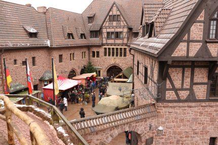 Weihnachtsmarkt Wartburg